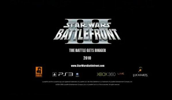 Star Wars Battlefront 3.